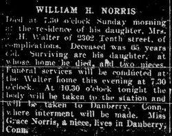 Norris, William H. 1926