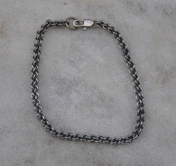 Steel Rope Chain Bracelet