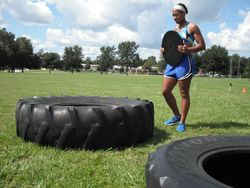Weighted tire jumps 4