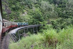 Kuranda Scenic Railway near Cairns