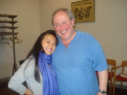 With Jon Fredric West after singing in his masterclass!