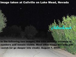 """""""Hex"""" orbs at Callville (1 of 3)"""