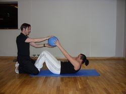 Medicine Ball Sit-Ups