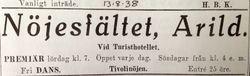 Turisthotellet Kullen 1938