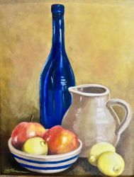 Still Life with Earthen Pitcher