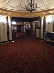 The mezzanine of Proctors. So very very active with strange activity...