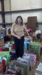 Elaine Cloninger, Angel Tree leader