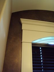 Faux Feature Wall