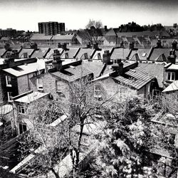 West London rooftops