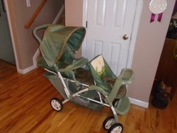 Graco DuoGlider Classic Connect Double Baby Stroller - $60