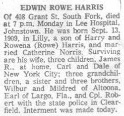Harris, Edwin Rowe 1965