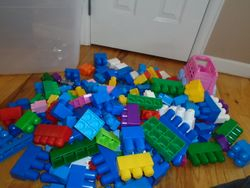 MegaBloks- Quantity of 170+ with Tub - $35