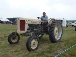 a Ferguson 40 Hi-Clear tractor