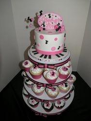 Music Theme Cupcake Stand