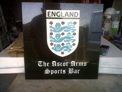 England Badge hand drawn