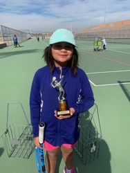 Kayley 3rd place girls 10s green