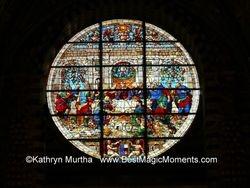 Tuscan Church Window