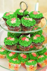 Fields and Flowers Cupcakes