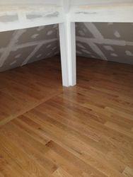 Hardwood Attic Space