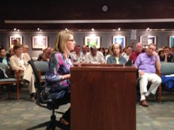 Kristen Robertson PTA President testify about safety