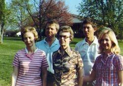 Ila Herman and Bonnie, Brenda, Jim and Dennis