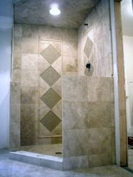 12x12 Marble shower