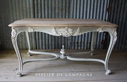 #26/002 FRENCH TABLE LOUIS XV