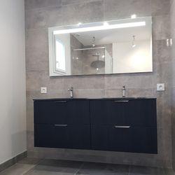 La salle de bain terminée