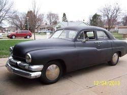 39.51 Mercury 4 Door sedan.