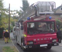 1986 Dennis fire engine