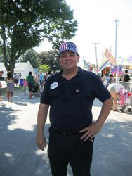Ed Priola at the Fair