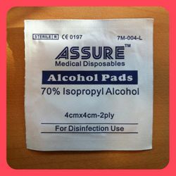 ASSURE - Medical Disposables Alcohol Pads