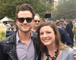 Jared with Anne McCloy at Walk of Fame Ceremony | Nashville (21 Sep 12)