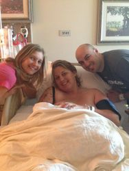 Jenniffer and Kalen become a family of four with baby Isla