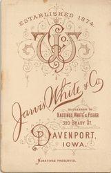 Jarvis White & Co., Davenport, IA -- back