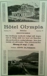 Hotell Olympia 1915