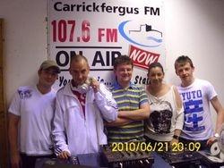 Lorraine Lee with her Velocity DJs