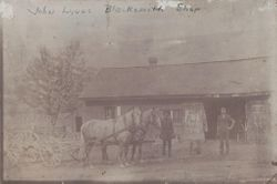 John S. Lynn's Blacksmith Shop