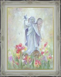 Angel of the Tulips & Panels
