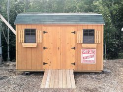 8 x 12 Gambrel roof with T-111 siding