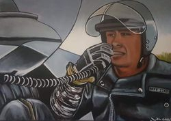 """""""Steve Bisley"""", as quick tempered police officer """"Jim Goose"""",  """"Mad Max"""",,"""