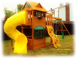 "Big Backyard ""Frontenac"" Swing set"