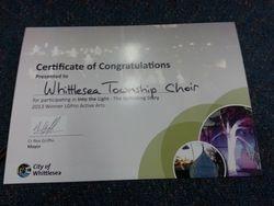 Award for the Choir