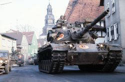 M-60's in Europe.