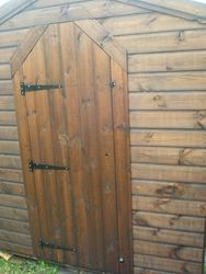 Fancy Door (8' x 6')