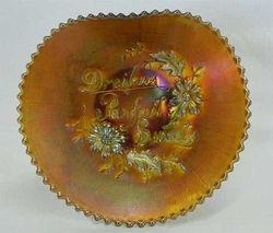 Dreibus Parfait Sweets advertising handgrip plate, purp