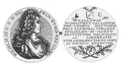Medal struck on the surrender of Galway