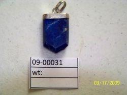 09-00031 Lapis Pendant Chevron