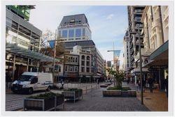 Cashel Street Mall just before the Quake