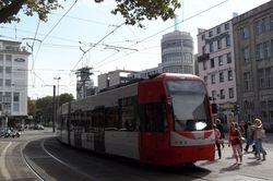 K4500 trams departing Neumarkt.